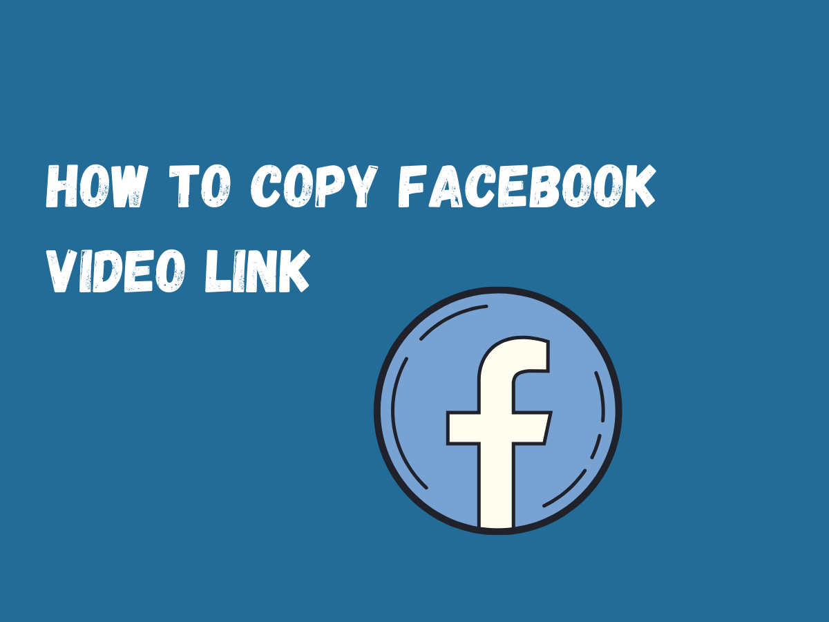 How to copy facebook video link